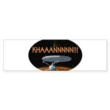 ST: KHAN! Bumper Sticker