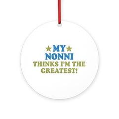 My Nonni Ornament (Round)