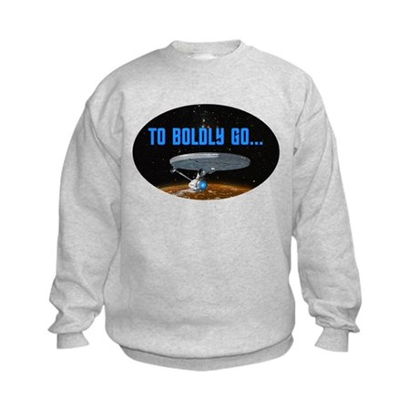 ST: Boldly Go Kids Sweatshirt