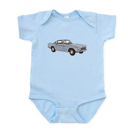 Volvo p1800 1800 1800e 1800s vintage car auto Body