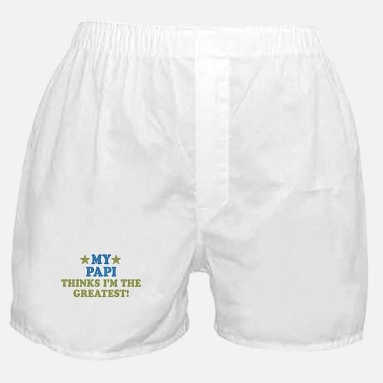 My Papi Boxer Shorts