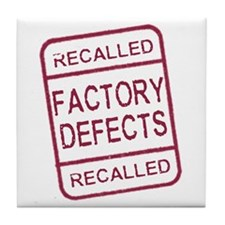 Recalled- Factory Defects Tile Coaster