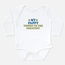 My Pappy Long Sleeve Infant Bodysuit