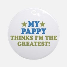 My Pappy Ornament (Round)