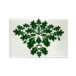 Green Man Rectangle Magnet