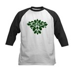Green Man Kids Baseball Jersey