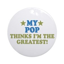 My Pop Ornament (Round)