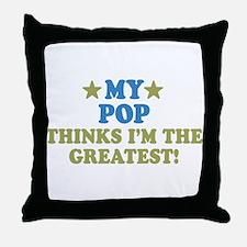 My Pop Throw Pillow