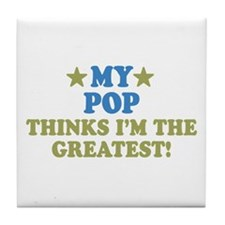 My Pop Tile Coaster