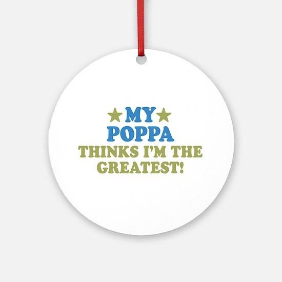 My Poppa Ornament (Round)