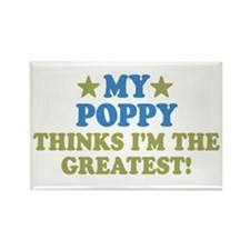 My Poppy Rectangle Magnet