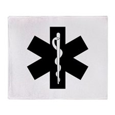EMS Star of Life Throw Blanket