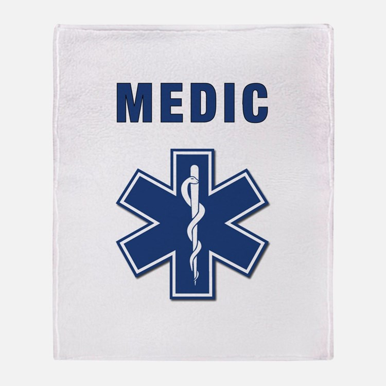 Medic and Paramedic Throw Blanket