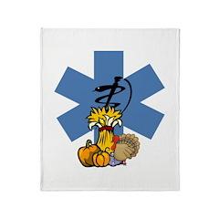 EMS Thanksgiving Throw Blanket