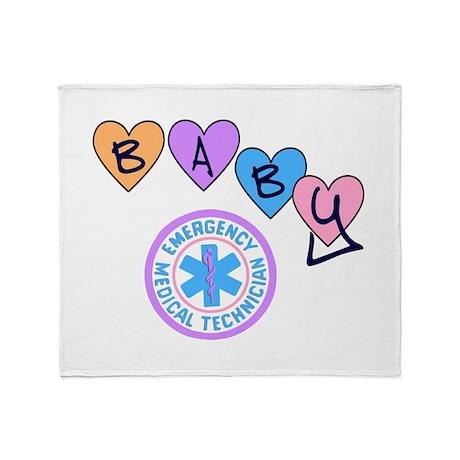 EMT Baby Throw Blanket