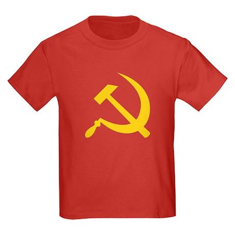 USSR Hammer & Sickle Kids Dark T-Shirt