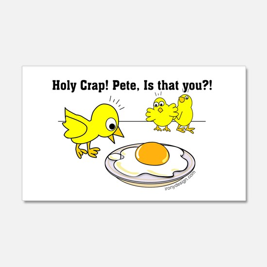 Holy Crap! Pete, is that you? Decal Wall Sticker