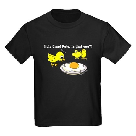 Holy Crap! Pete, is that you? Kids Dark T-Shirt