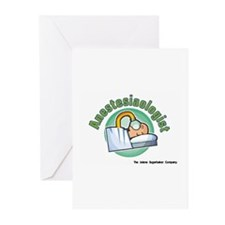 Anestesiaologist Greeting Cards (Pk of 10)
