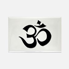 Om Rectangle Magnet (100 pack)