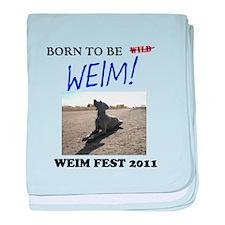 Weim Fest 2011 baby blanket
