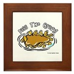 Pass The Gravy Framed Tile