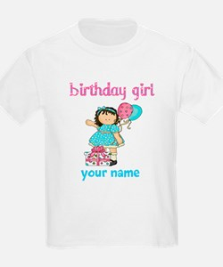Birthday girl custom T-Shirt