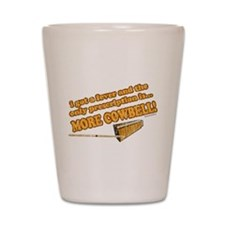SNL: Cowbell Shot Glass