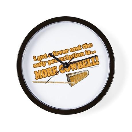 SNL: Cowbell Wall Clock