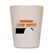 SNL: Toonces Shot Glass