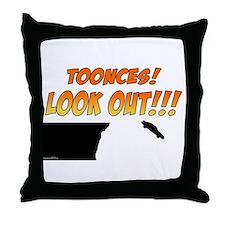 SNL: Toonces Throw Pillow