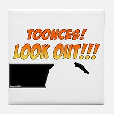 SNL: Toonces Tile Coaster