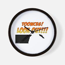 SNL: Toonces Wall Clock