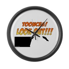SNL: Toonces Large Wall Clock