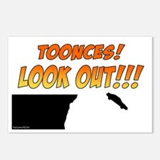 SNL: Toonces Postcards (Package of 8)