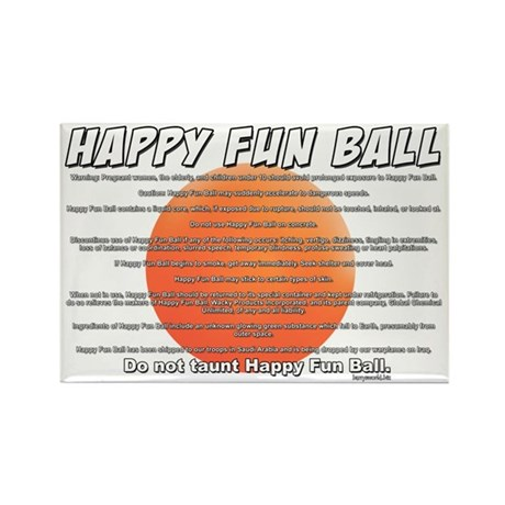 SNL: Fun Ball Rectangle Magnet (10 pack)