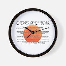 SNL: Fun Ball Wall Clock
