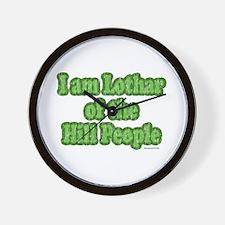 SNL: Lothar Wall Clock