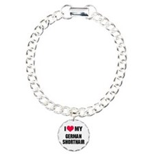 I Heart My German Shorthair Bracelet