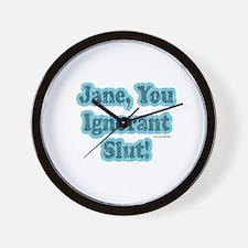 SNL: Jane Wall Clock