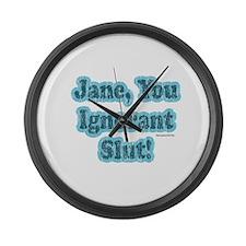SNL: Jane Large Wall Clock