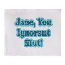 SNL: Jane Throw Blanket