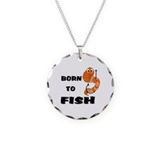 Born To Fish Necklace
