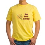 Sexy Dental Assistant Yellow T-Shirt
