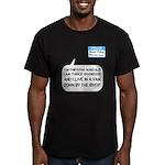 SNL: Van Men's Fitted T-Shirt (dark)