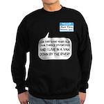 SNL: Van Sweatshirt (dark)