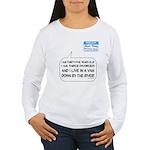 SNL: Van Women's Long Sleeve T-Shirt