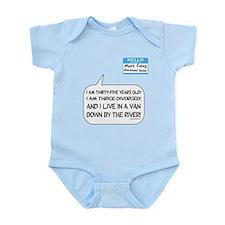 SNL: Van Infant Bodysuit