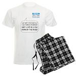 SNL: Van Men's Light Pajamas