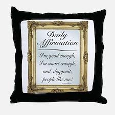 SNL: Affirmation Throw Pillow